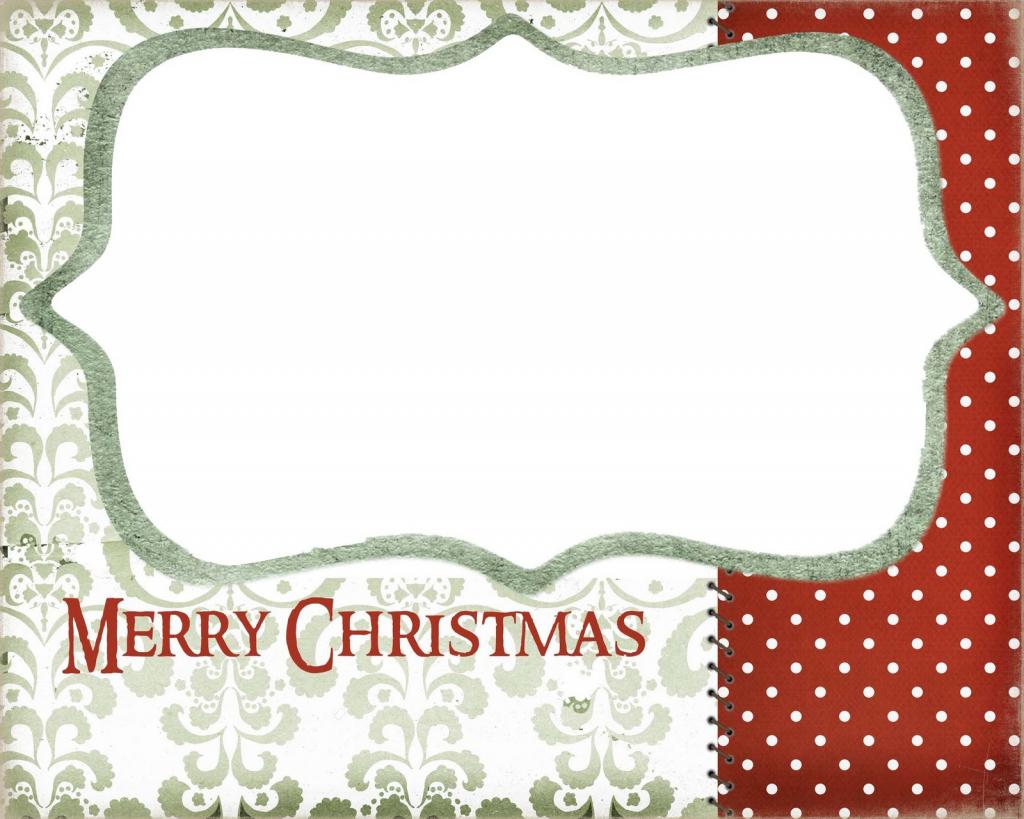 Blank Printable Christmas Cards – Halloween & Holidays Wizard | To And From Christmas Cards Printable