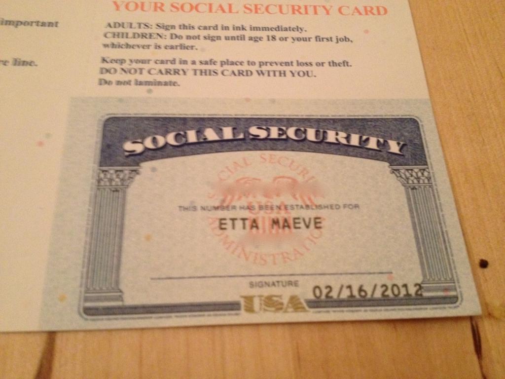 Blank Social Security Card Template - Canas.bergdorfbib.co   Printable Social Security Card Template