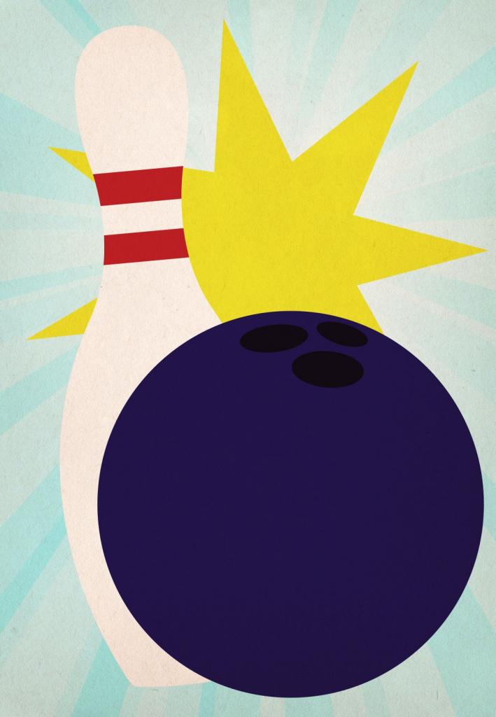 Bowling Birthday Party - Free Printable Birthday Invitation Template | Bowling Birthday Cards Printable