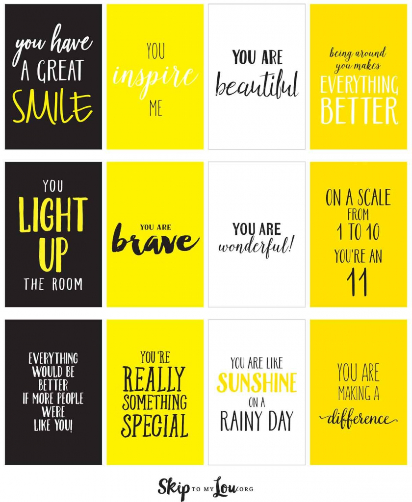 Box Of Sunshine | Gifts Ideas | Box Of Sunshine, Compliment Jar | Printable Compliment Cards For Students