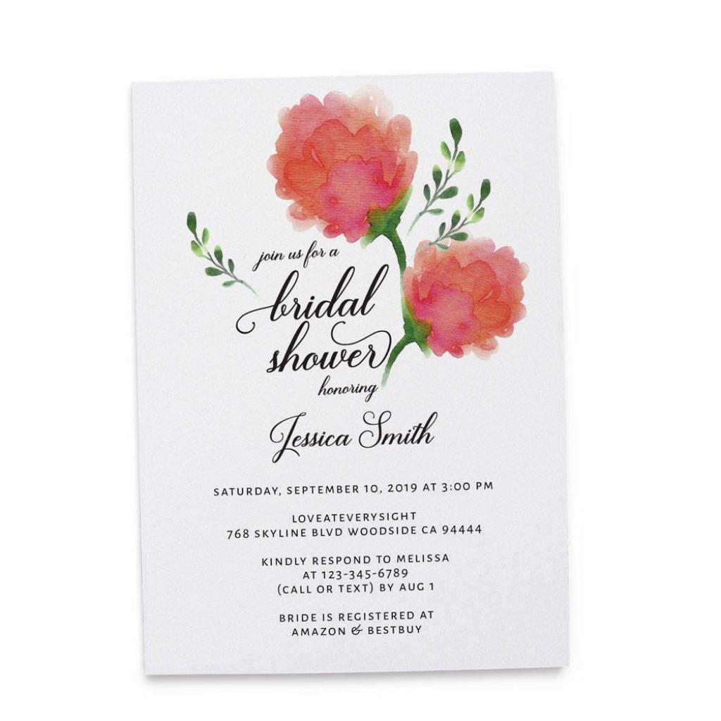 Bridal Shower Invitation Cards, Bridal Shower Cards, Bridal Shower   Printable Bridal Shower Card