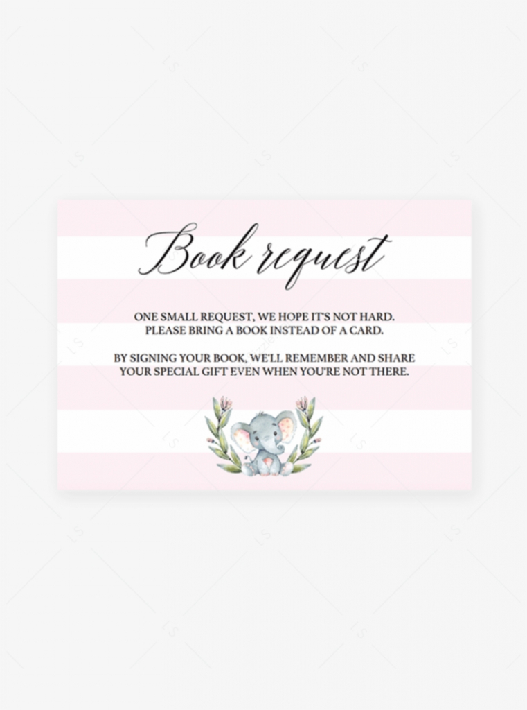 Bring A Book Instead Of A Card Baby Shower Printable - Free | Bring A Book Instead Of A Card Free Printable