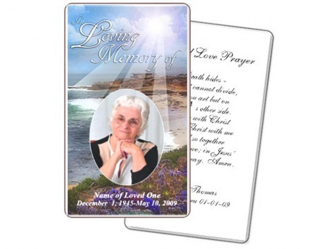 Business Card Psd Template Funeral Prayer Card Template Free Frd28   Free Printable Funeral Prayer Card Template