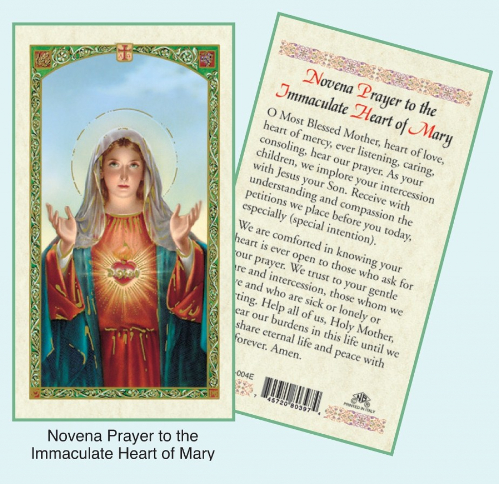 Catholic Prayer Cards | Printable Catholic Prayer Cards
