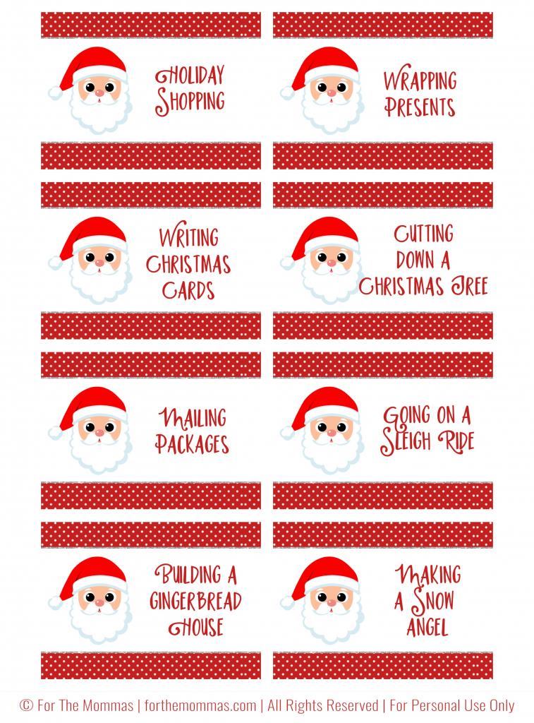 Christmas Charades Free Printable - Start A New Holiday Tradition - Ftm | Free Printable Charades Cards
