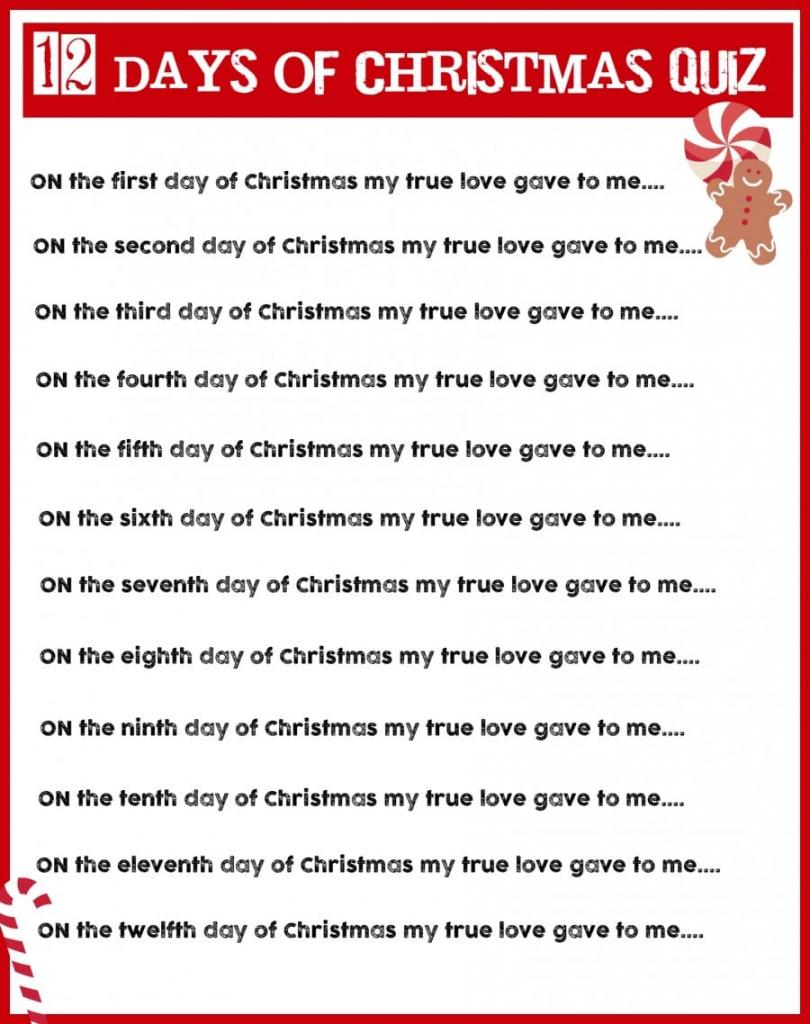 Christmas Charades Game And Free Printable Roundup! - A Girl And A   Free Printable Christmas Charades Cards