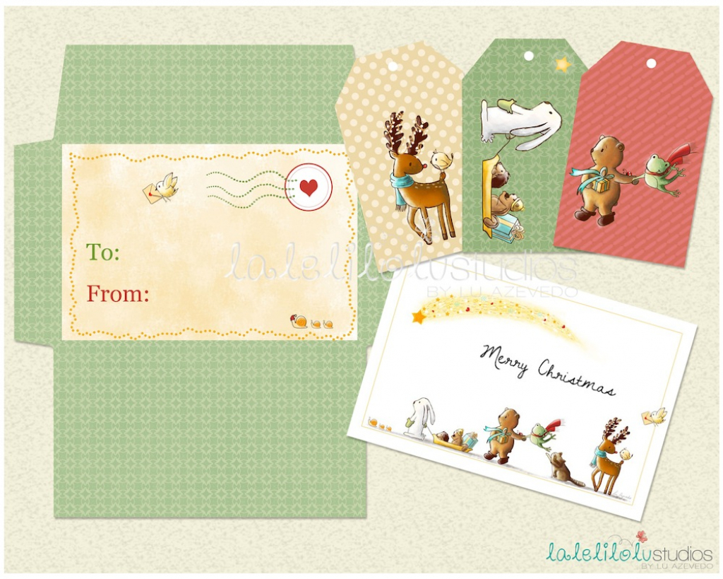 Christmas Gift Card Envelope Printable – +70.000 Christmas Tree   Gift Card Printable Envelope