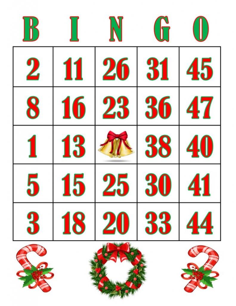 Christmas/printable Cards/bingo Cards/bingo/jingle | Etsy | Printable Bingo Cards 1 20