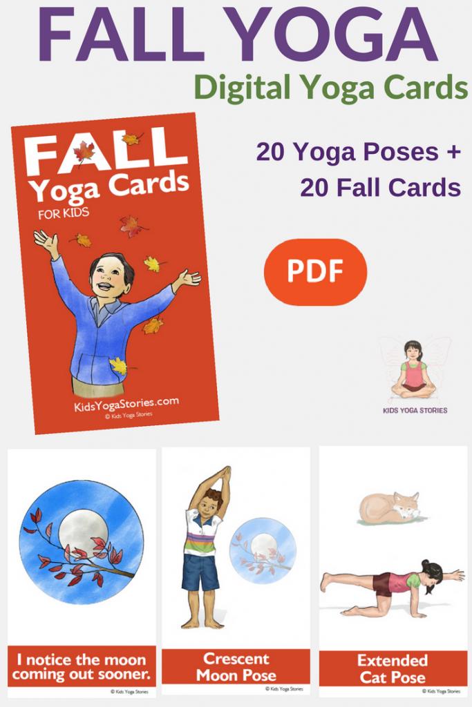 Collection Of Printable Yoga Cards For Kids - Movement In Your Classroom   Printable Yoga Cards For Kids