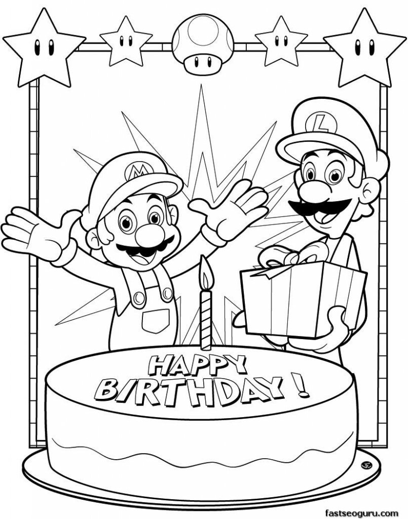 Coloring Pages ~ Awesome Printable Coloring Birthday Cards Photo   Printable Coloring Birthday Cards