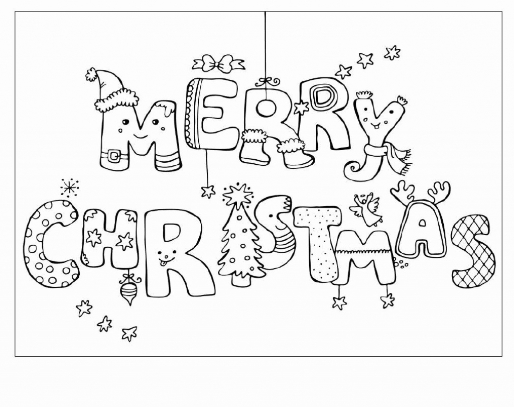 Coloring Pages ~ Coloring Pages Preview Full Printable Christmas   Printable Christmas Cards For Kids