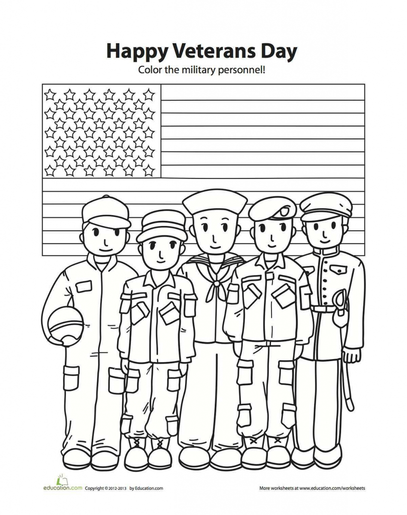 Coloring Pages ~ Coloring Pages Veterans Day For Kindergarten Ideas   Veterans Day Free Printable Cards