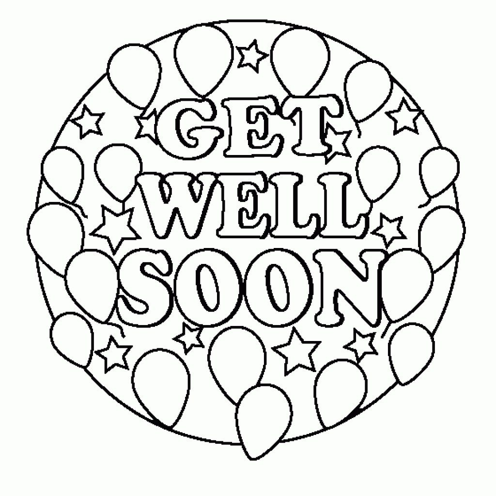 Coloring Pages ~ Get Well Soon Printable Coloring Pages | Free Printable Get Well Soon Cards