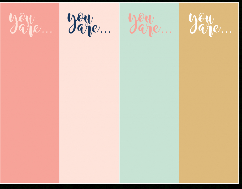 Compliment Cards: Free Printables For Boys And Girls | Printable Compliment Cards For Students