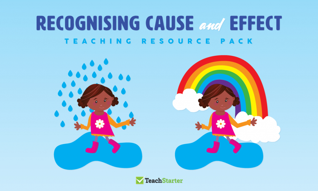 Comprehension Strategy Teaching Resource Pack - Recognising Cause | Free Printable Cause And Effect Picture Cards