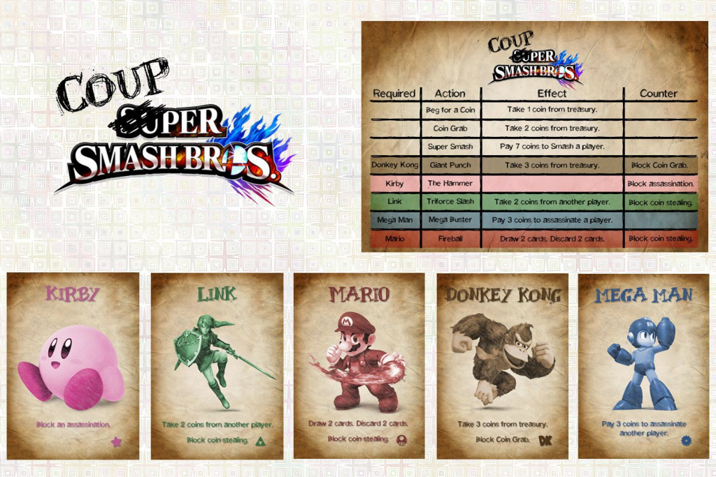 Coup | Image | Boardgamegeek | Coup Card Game Printable