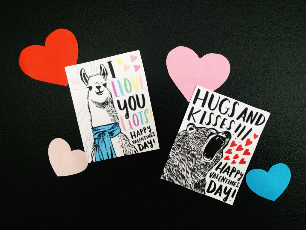 Cute And Clever Printable Valentine's Day Cards | Homemade Valentine Cards Printable
