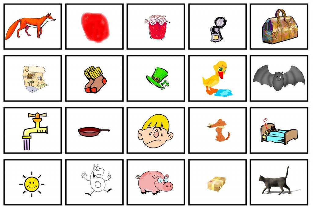 Cvc Picture Cards   Cvc Cards   Cvc Words   Cvc Picture Cards Printable