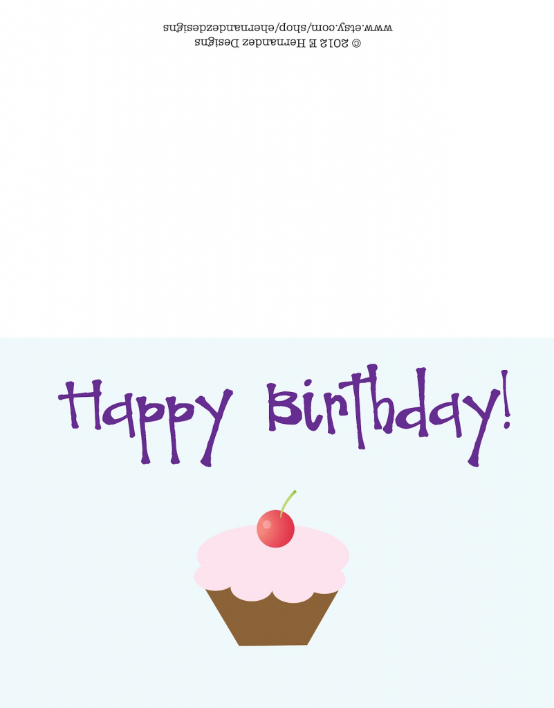 Design A Birthday Card Online Free Printable – Happy Holidays! | Free Printable Happy Birthday Cards Online