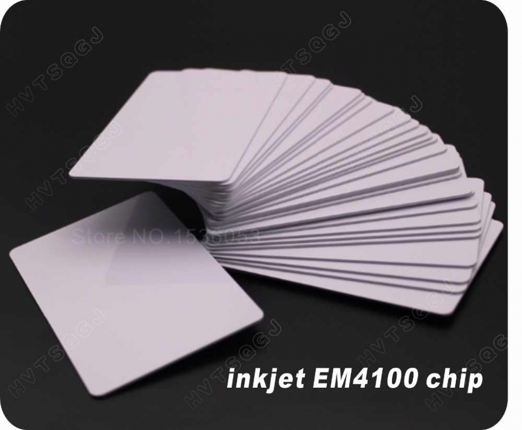 Detail Feedback Questions About 100 Pcs/lot Glossy Inkjet Rfid | Inkjet Printable Pvc Id Cards