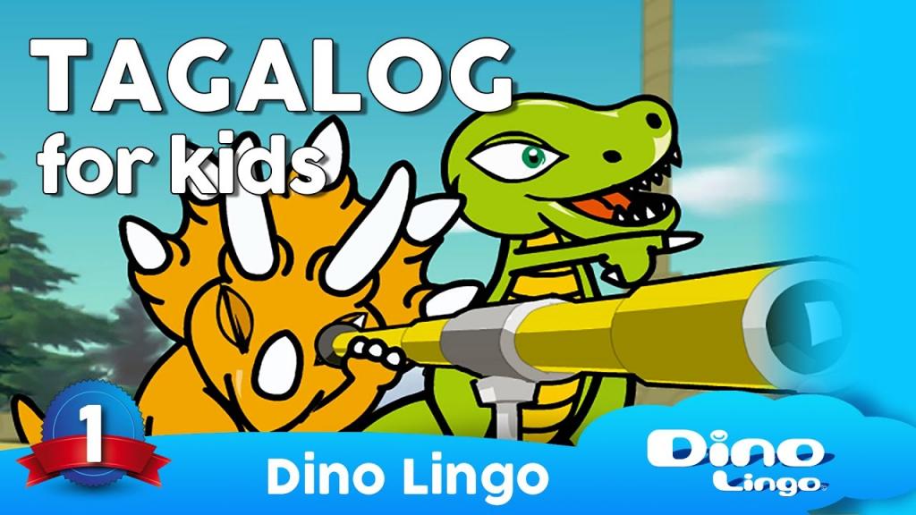 Dinolingo Tagalog For Kids - Learning Tagalog For Kids - Tagalog | Printable Tagalog Alphabet Flash Cards