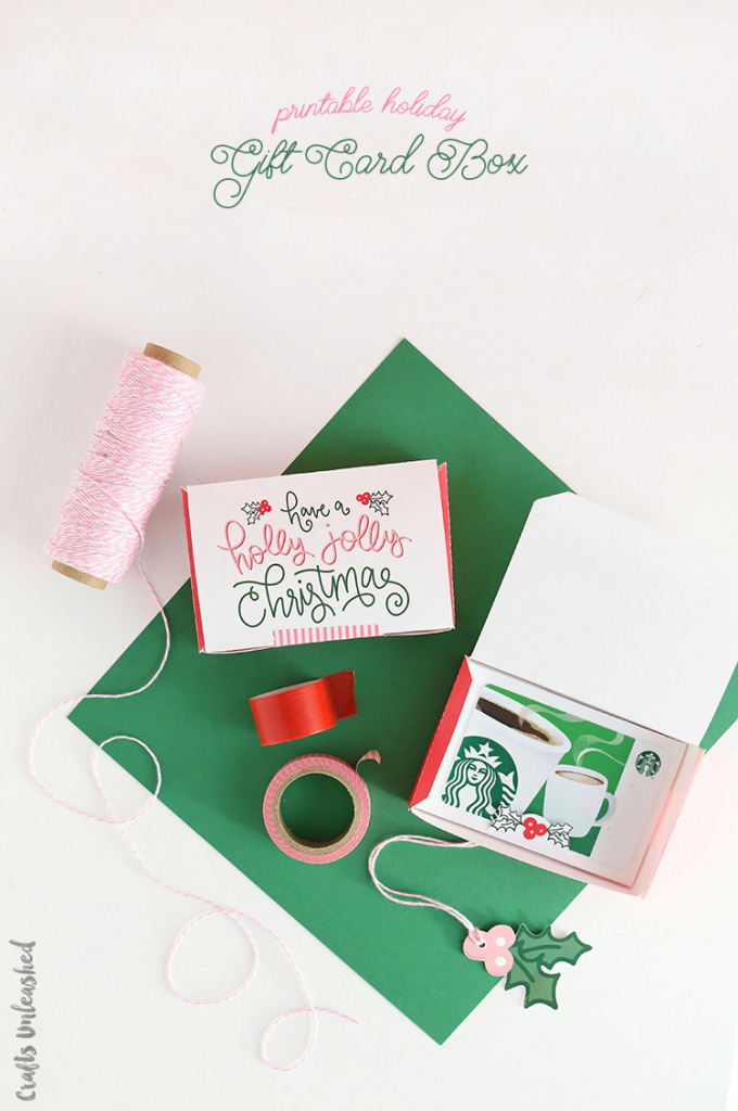Diy Gift Card Boxes: Free Printable Template - Consumer Crafts   Gift Card Box Template Printable