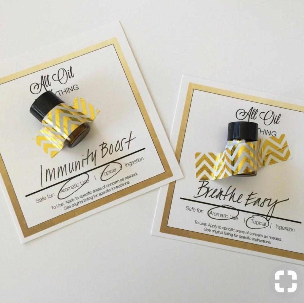 Diy Oil Sample Cards | Essential Oils | Essential Oils, Essential | Free Printable Doterra Sample Cards