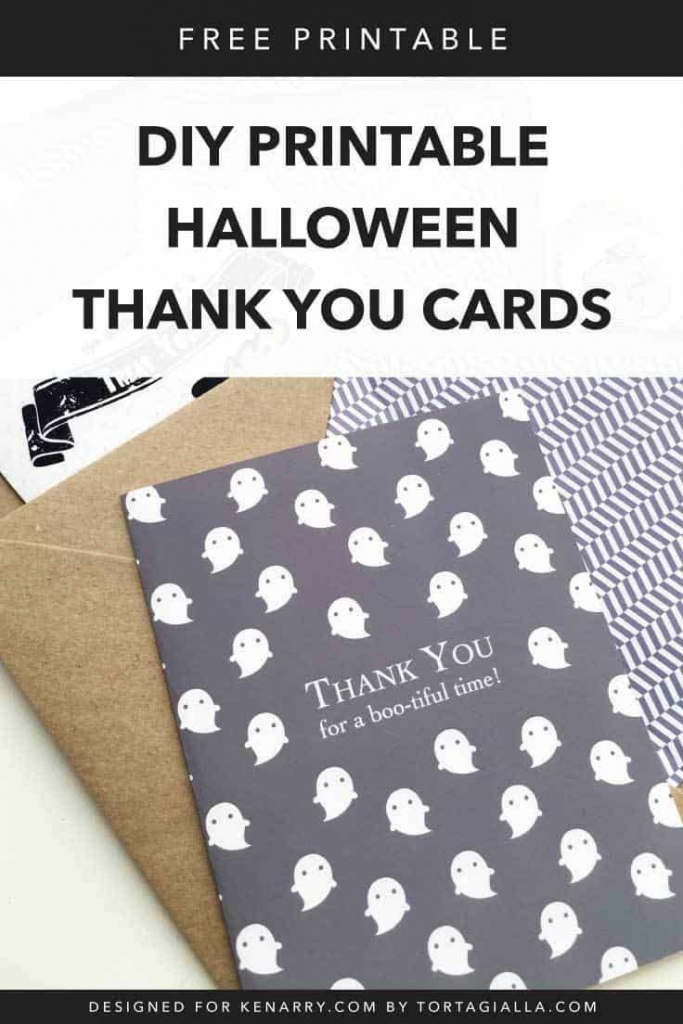Diy Printable Halloween Cards | Fall & Thanksgiving Ideas | Cute Printable Halloween Cards