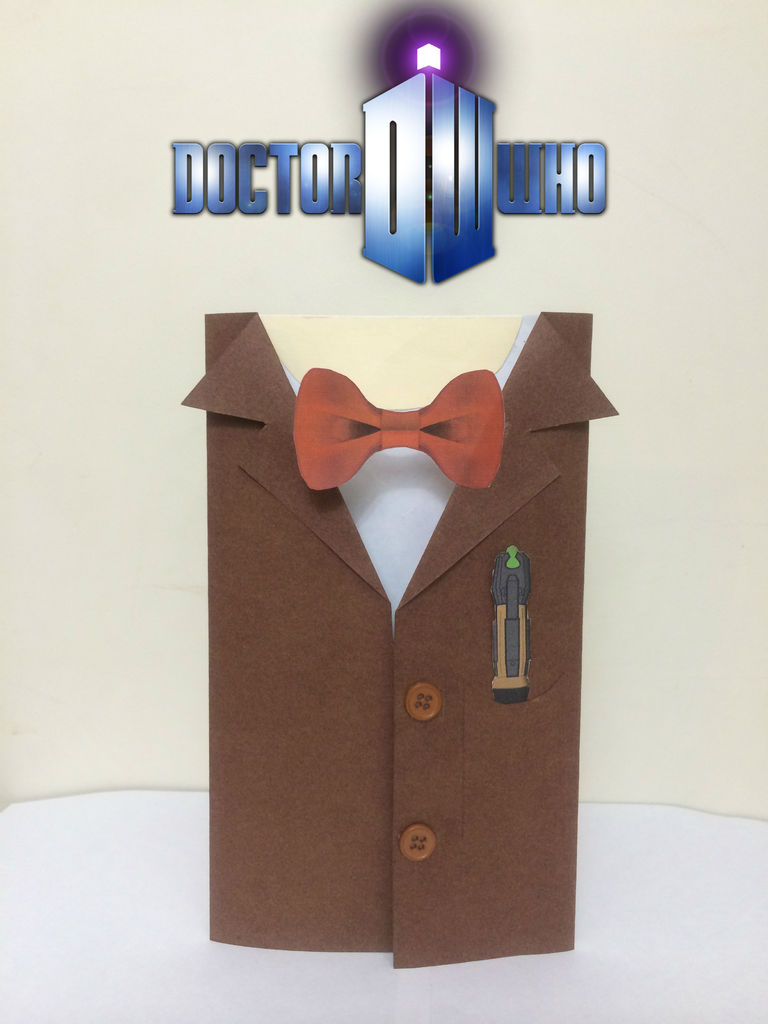 Doctor Who Birthday Card: 5 Steps (With Pictures) | Free Printable Dr Who Birthday Card