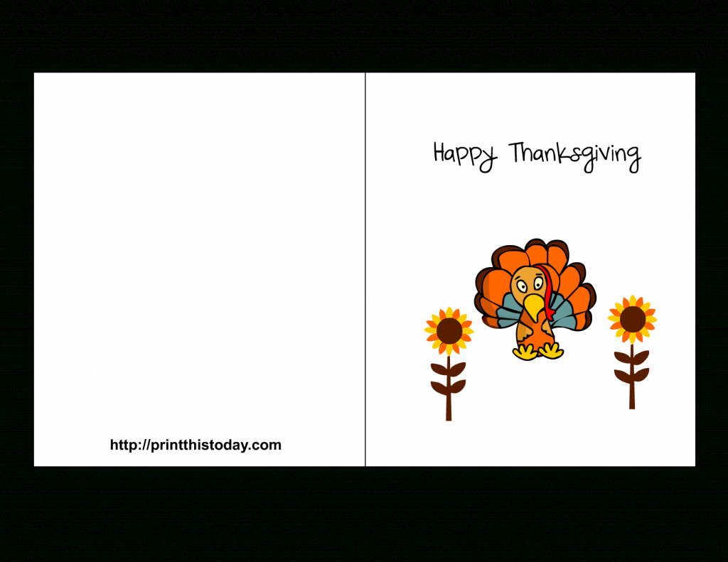 Downloadable Thanksgiving Cards - Kleo.bergdorfbib.co | Thanksgiving Cards For Kids Printable