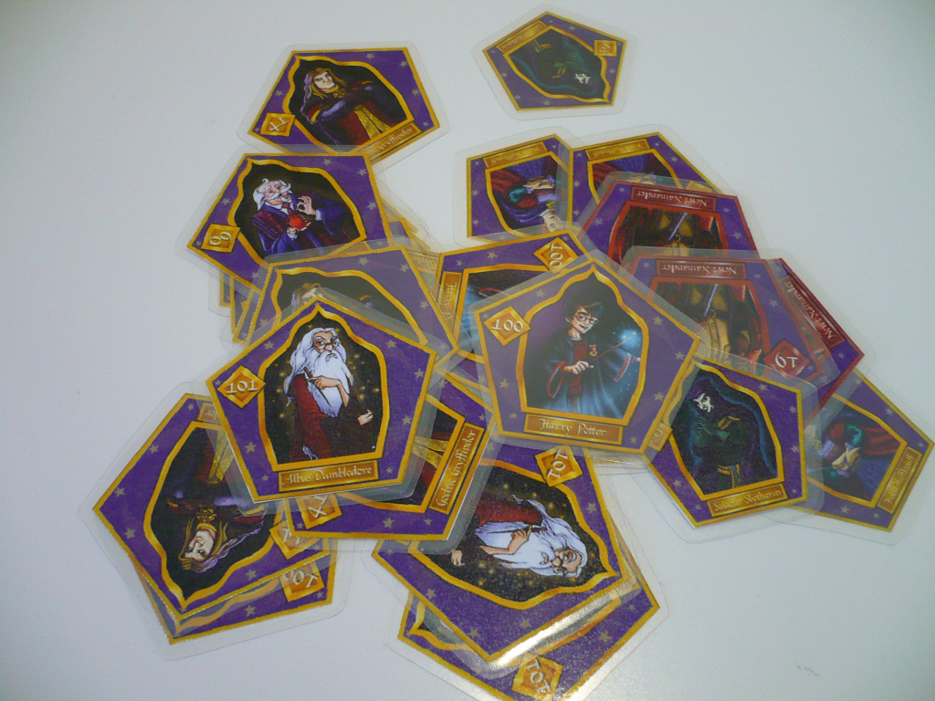 Drooble's Best Blowing Gum | Ottawamom | Printable Harry Potter Wizard Cards