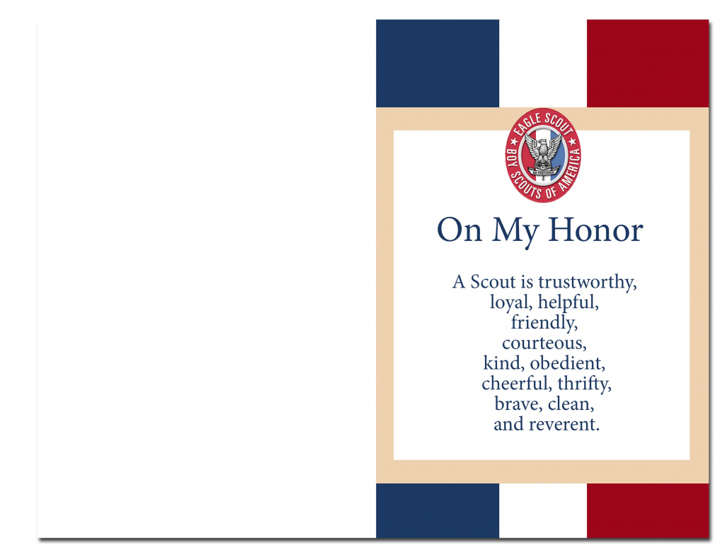 Eagle Scout Court Of Honor Ideas And Free Printables | Information | Eagle Scout Cards Free Printable