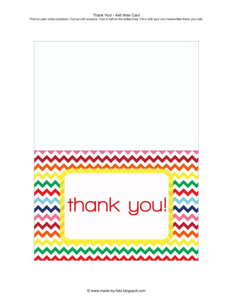 Easter Thank You Cards Printable – Merry Christmas And Happy New | Printable Photo Thank You Card Template