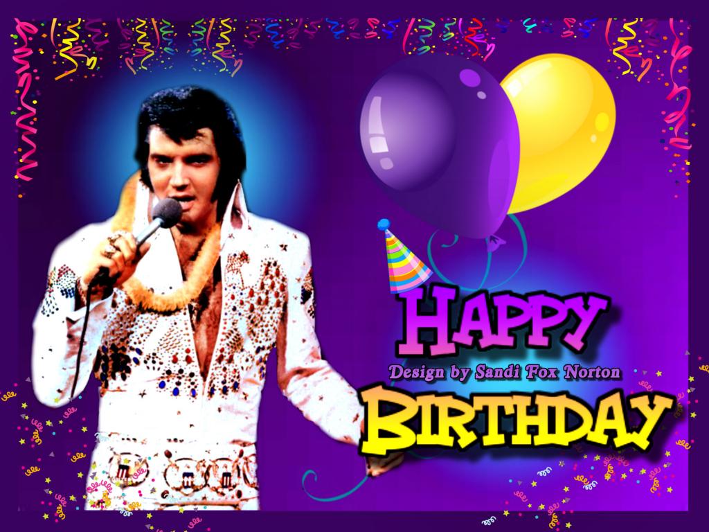 Elvis Presley Virtual Birthday Cards   Www.iheartelvis   Elvis Birthday Cards Printable