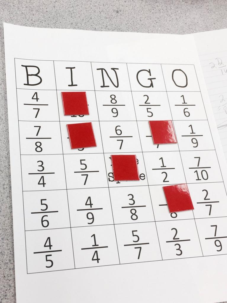 Equivalent Fraction Bingo   Elementary Education Collaborative Board   Fraction Bingo Cards Printable Free