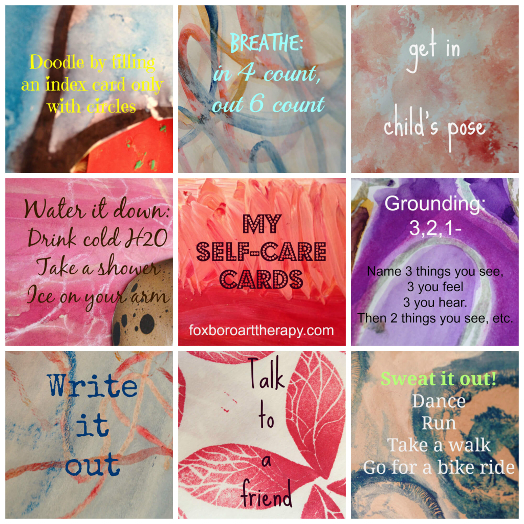 Everybody's Anxious: How Not To Let Anxiety Rule Your Life   Self Care Cards Printable