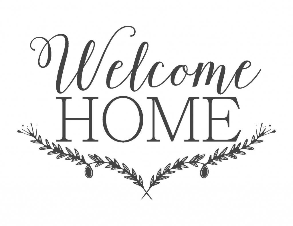 Farmhouse Free Printable Set-Gather-Choose Joy-Welcome Home   ~For   Welcome Home Cards Free Printable