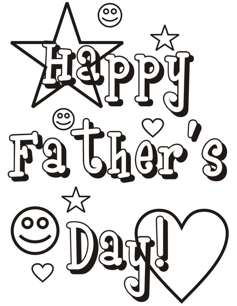 Fathers Day Coloring Pages For Grandpa | Father's Day Wishes | Free Printable Happy Fathers Day Grandpa Cards