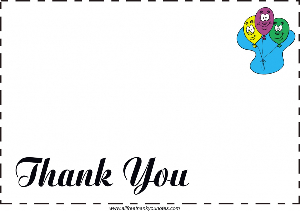 Free All Occasion Thank You Notes And Thank You Cards | Free Printable Cards For All Occasions