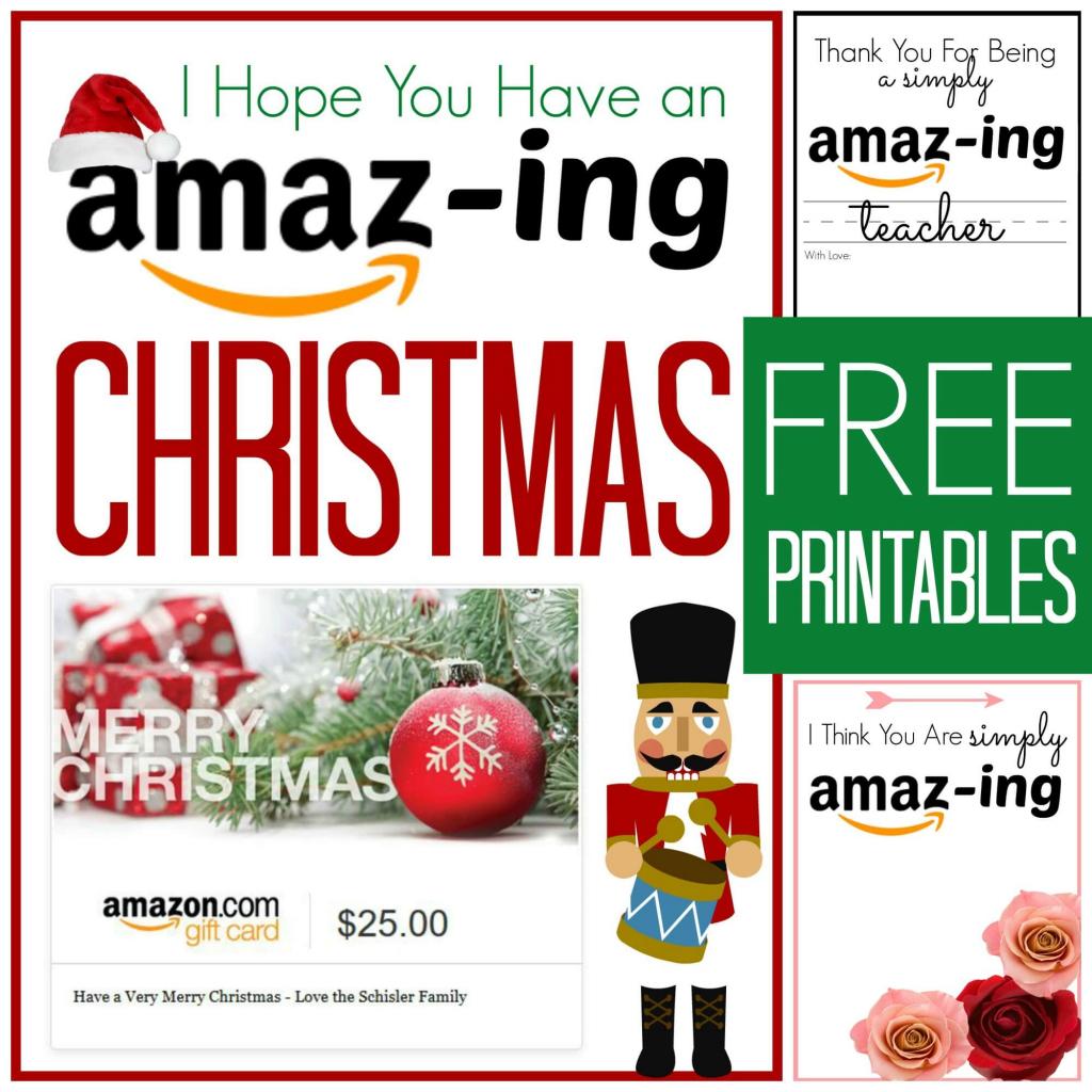 Free Amazon Gift Card Printable Cards | Amazon Printable Gift Card
