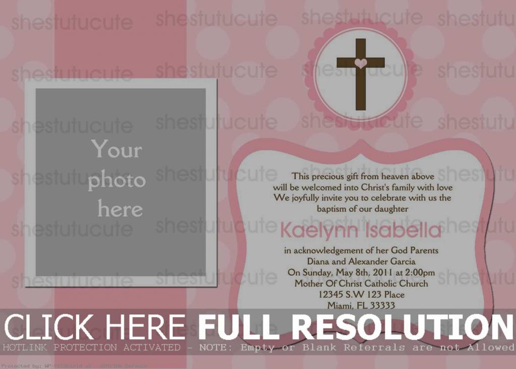 Free Baptism Cards To Print - Under.bergdorfbib.co | Printable Baptism Christening Cards