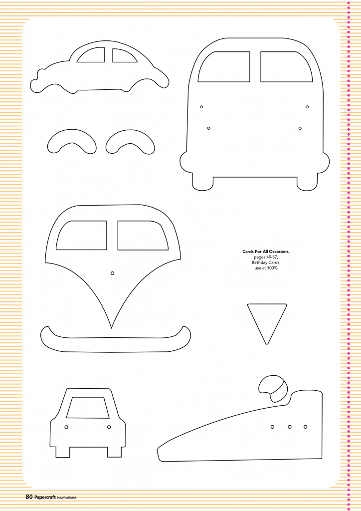 Free Card Making Templates From Papercraft Inspirations 123 | Free Card Making Templates Printable
