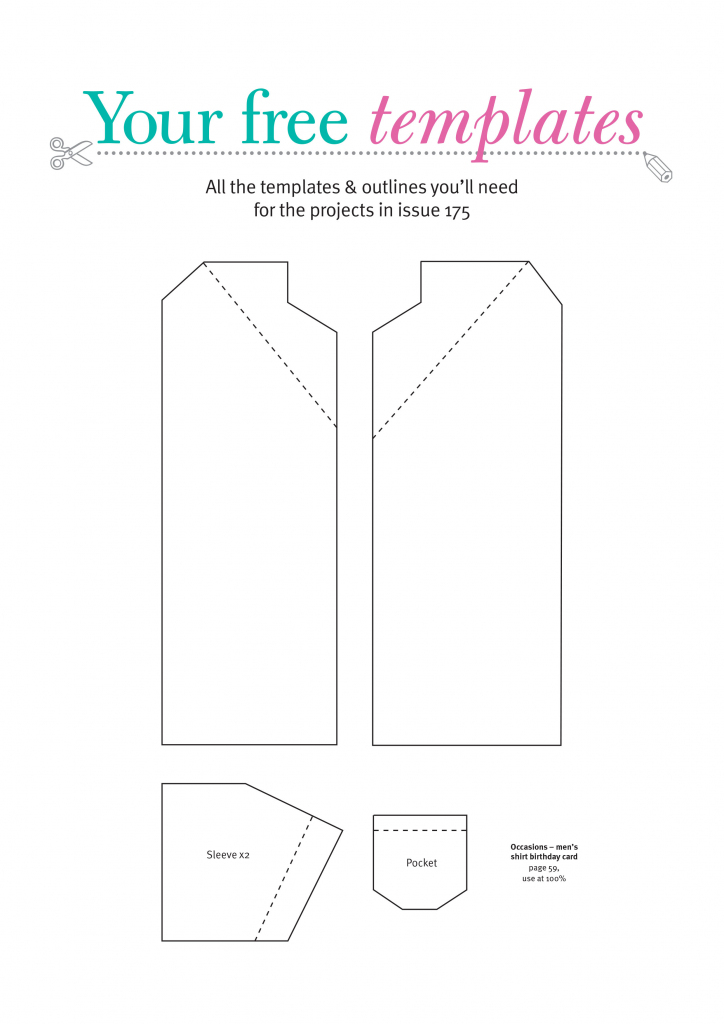 Free Card Making Templates From Papercraft Inspirations 175   Printable Card Making Templates