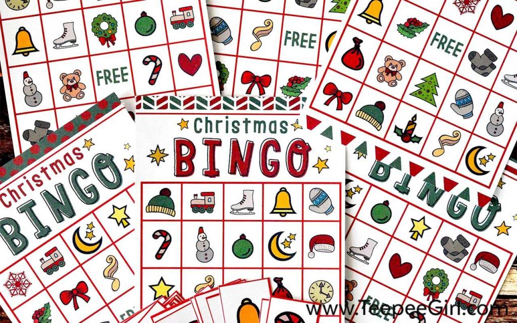 Free Christmas Bingo Game Printable | Free Printable Christmas Bingo Cards