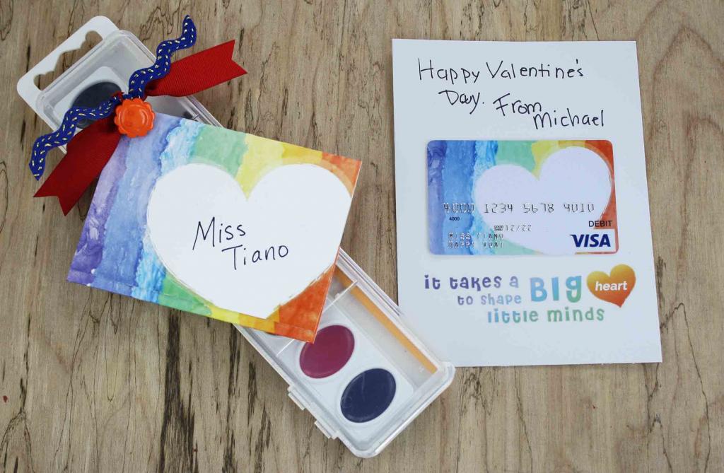 Free Gift Card Printable - Teacher Valentine Gift | Giftcards | Free Printable Teacher's Day Greeting Cards