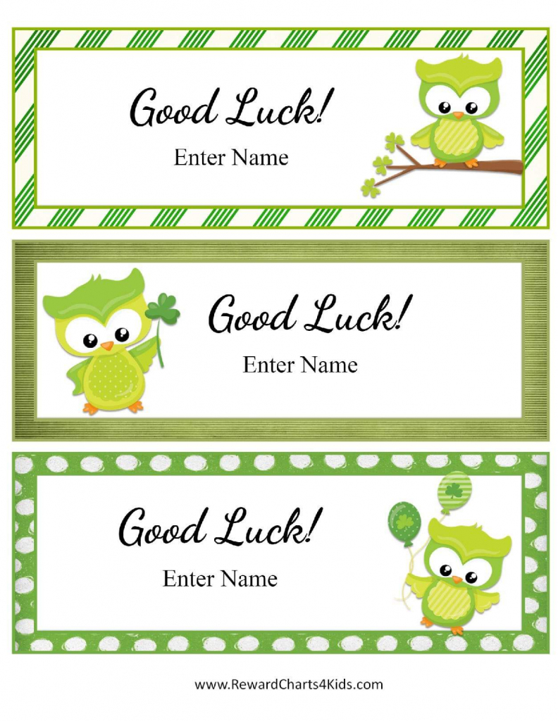 Free Good Luck Cards For Kids | Customize Online & Print At Home | Printable Good Luck Cards For Exams