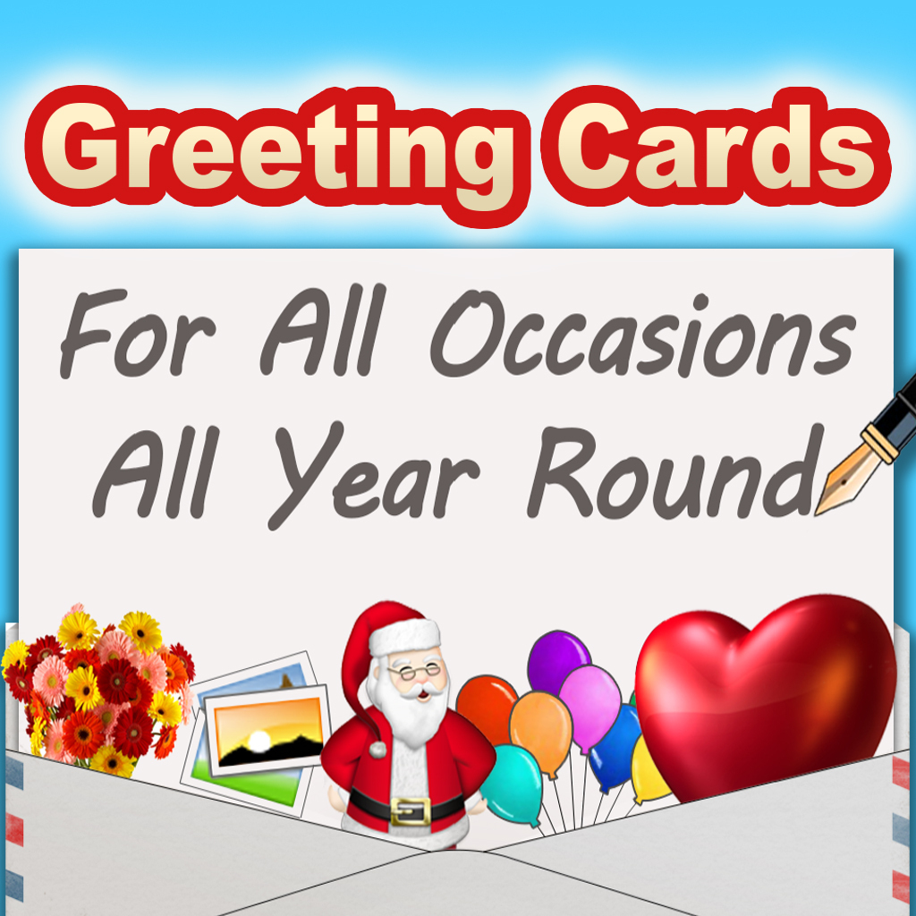 Free Greeting Cards For Iphone & Ipad - Greeting Cards App | Free Printable Greeting Cards For All Occasions