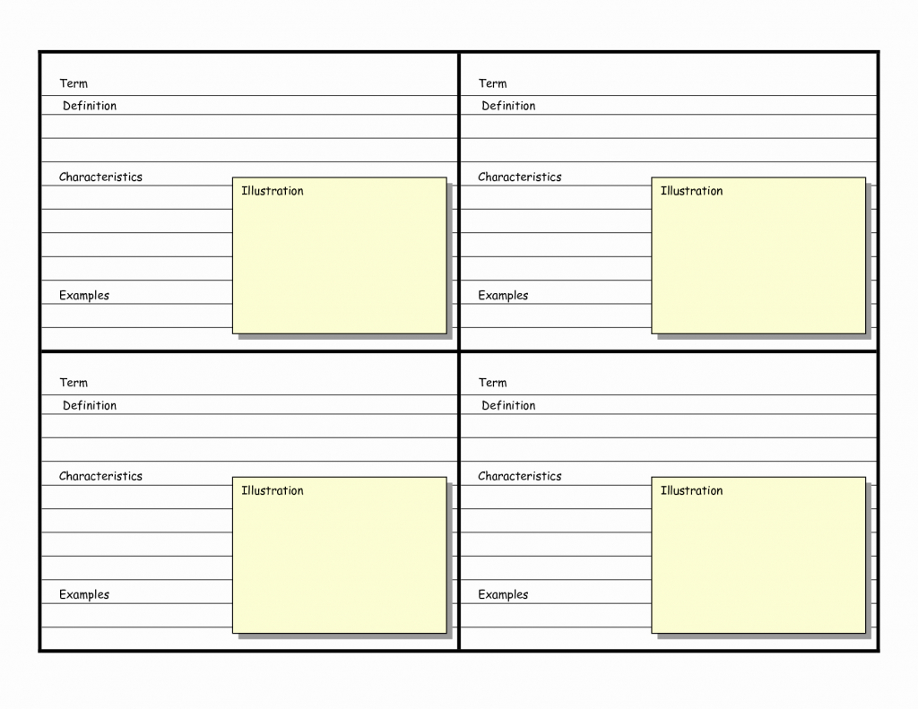 Free Index Card Template Beautiful 8 Best Of Printable Blank   Free Printable Blank Index Cards