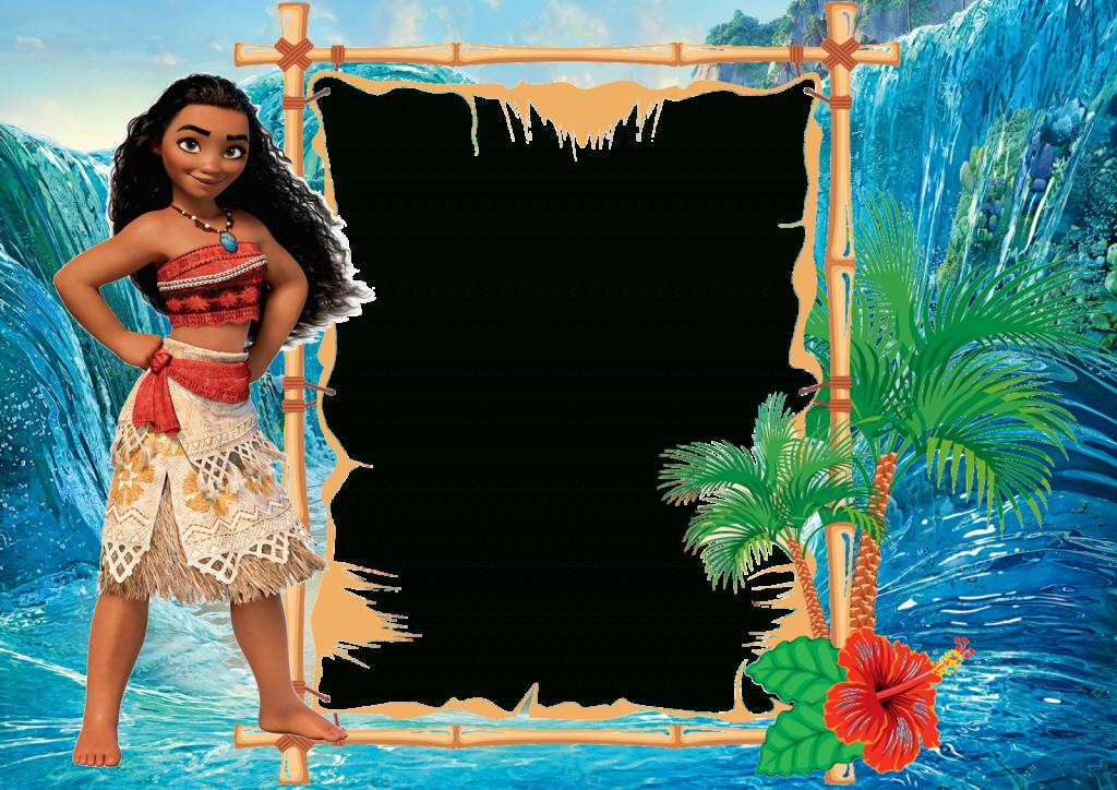 Free Moana Birthday Invitation Template | Moana (Disney) Printables | Moana Birthday Card Printable