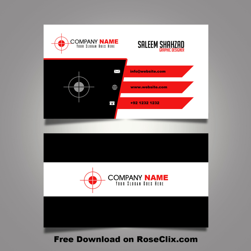 Free Online Business Card Template Download | Uunilohi | Free Online Business Card Templates Printable